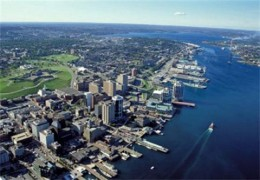 The harbourfront in Halifax is a great place to go walking and exploring any time of year