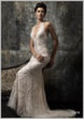 Wedding gown by Stephen Yearick.