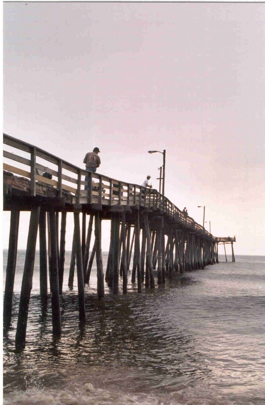 Pier Fishing on the Outer Banks