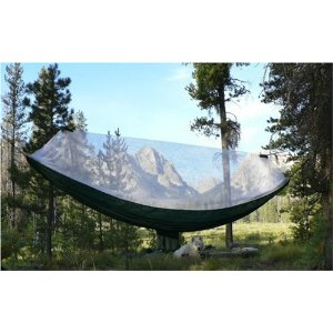 "Mosquito Free Hammock Bliss - Portable Bug Free Hammock - 100"" Rope Per Side Included - Ideal For Camping, Backpacking, Kayaking & Travel"