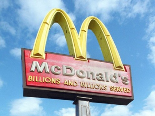 The iconic image of the Golden Arches