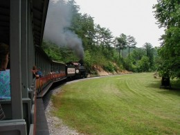 Smoky Mountain Railroad Train Ride at Dollywood