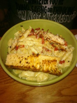 3 Cheese Chicken Penne Pasta Bowl