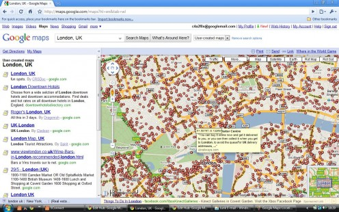 Google Maps User-Created Maps Layer with Marker Icons