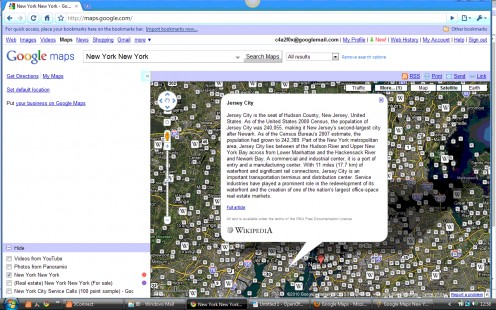 Google Maps Wikipedia Layer with Marker Icons & Infowindow