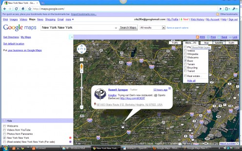 Google Maps Buzz Layer with Marker Icons & Infowindow