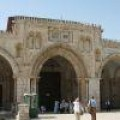 The Mosque that stands on the site where the Jewish Temple once stood.