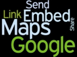 Google Maps Embed Send Link and Share Wordle by Humagaia