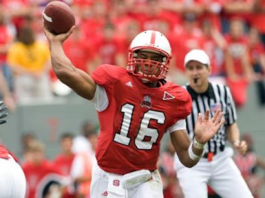 QB Russell Wilson NC State