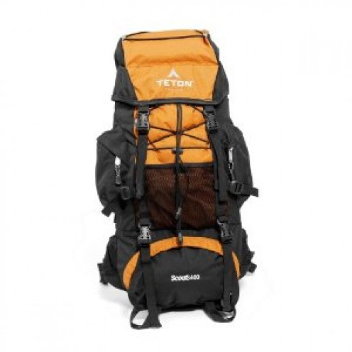 TETON Sports Scout3400 Internal Frame Backpack (Mecca Orange)