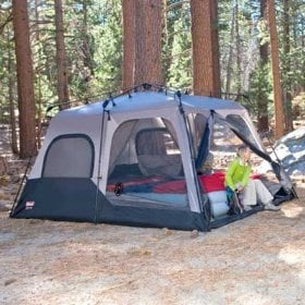 Coleman Instant 14- by 10- Foot 8- Person Two Room Tent