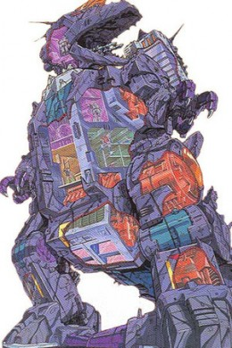 Trypticon (from Transformers) - What I Imagine an Internet Predator Looks Like