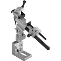 Drill bit sharpener jig.