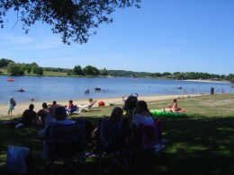 Videix swimming lake and beach