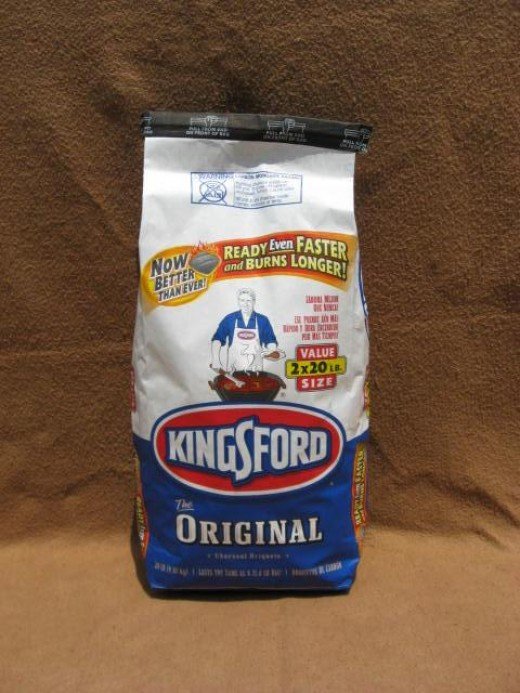 Image C - Kingsford Original Charcoal always lights easily and burns dependably.  I highly recommend this product.