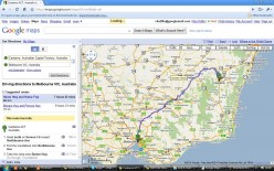 Customize and drag your driving directions