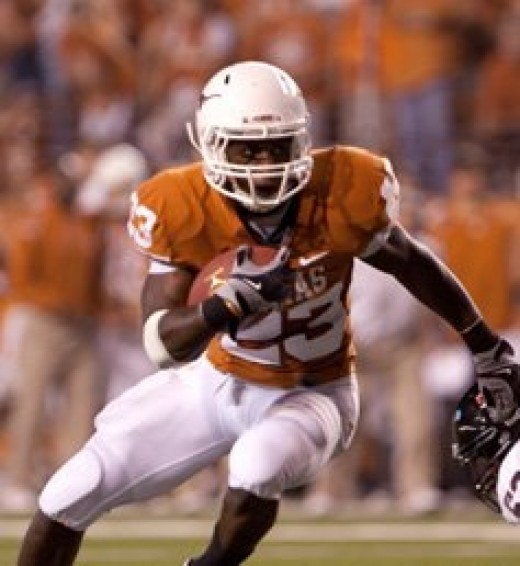 RB Tre Newton  Texas