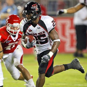 RB Baron Batch  Texas Tech