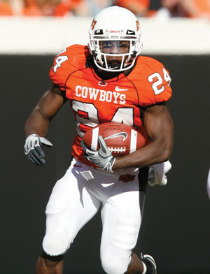 RB Kendall Hunter  Oklahoma State