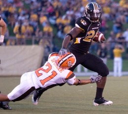 RB Derrick Washington  Missouri