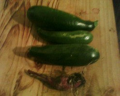 This was the first veg I harvested this year, not so bad at all!