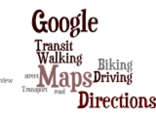 Google Directions Wor Cloud by Humagaia