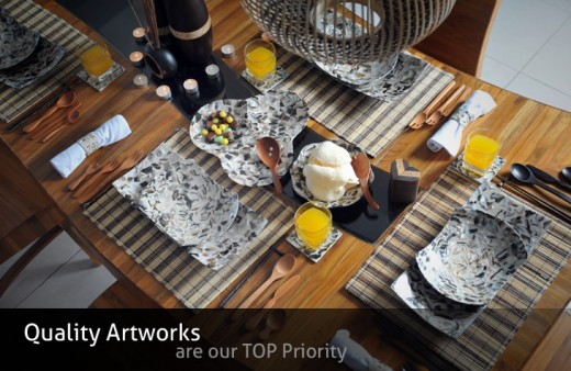 dining ware, traditional design, exotic!