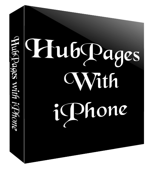 Hubpages with iPhone