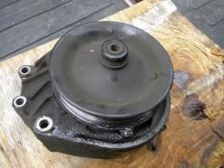 Old pump still on bracket