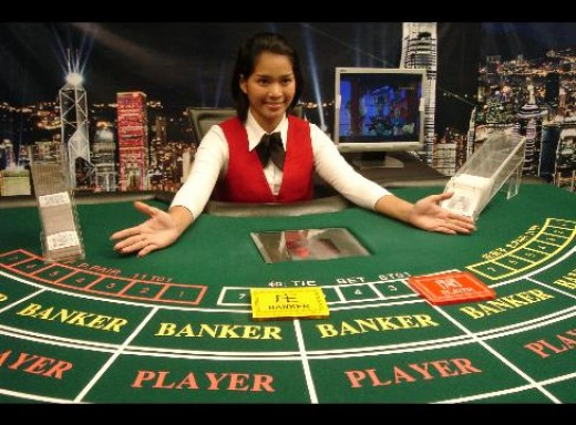 A dealer in a Casino in the Philippines