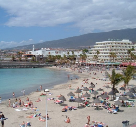 Beach at Puerto Colon
