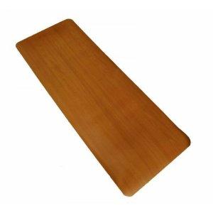 """Comfort Style Indoor / Outdoor Rug Size: 18"""" x 48"""", Color: Oak"""