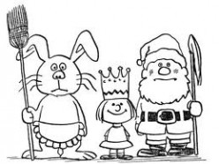 The Easter Bunny, Santa Claus, and the Meaning of Holidays