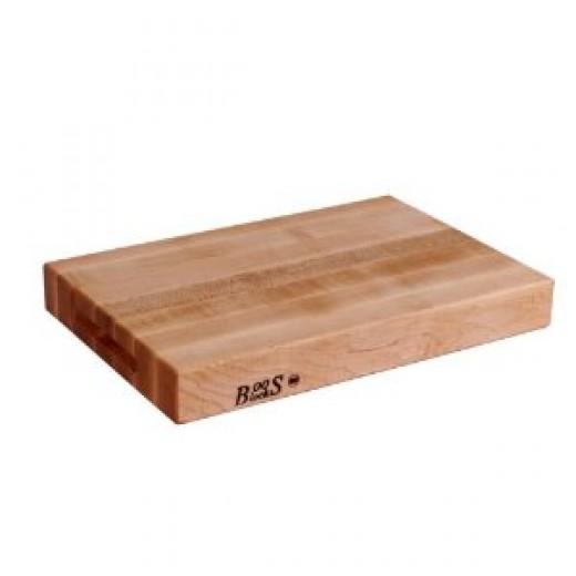 A John Boos Hard Rock Maple Kitchen Cutting Board.