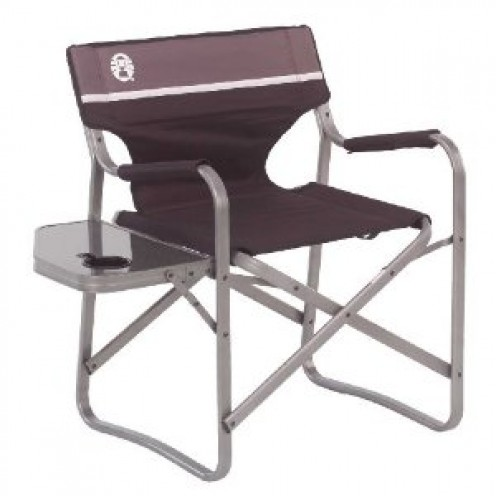 Coleman Deck Chair With Table