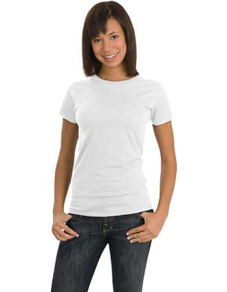 DT-DT200ORG Junior Ladies 100% Organic Cotton Perfect Weight Tee