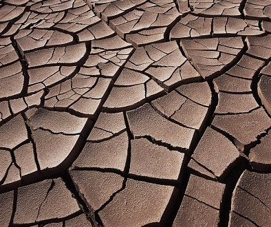 The cracked Earth. It's not a joke - we're the ones cracking it.