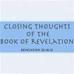 Our Own Sense of Revelations as we come to Know it, brings about one closing thoughts