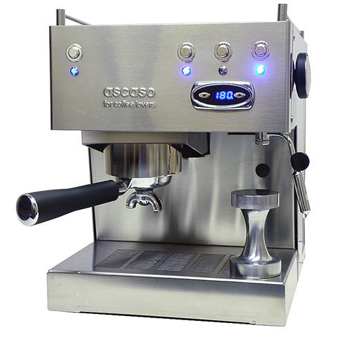 Ascaso Duo, dual heating espresso maker.