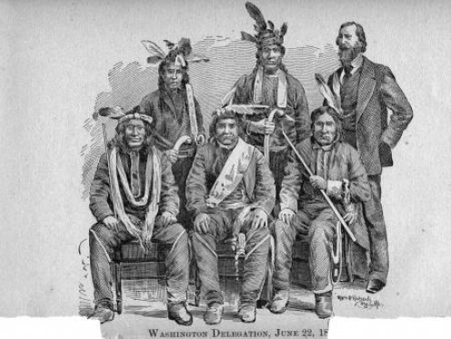 """Reminices of Life Among Indians"" by Benjamin Armstrong and Thomas Wentworth in 1891."