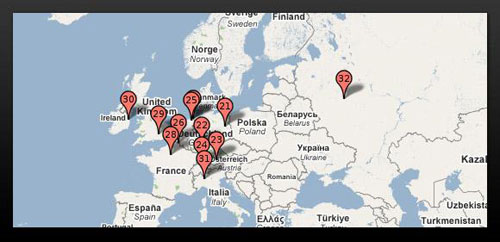 google data centers in Europe