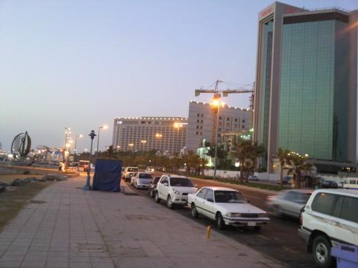 Driving Saudi Arabian Roads