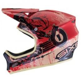 Sixsixone Evolution Distressed full face Bike Helmet