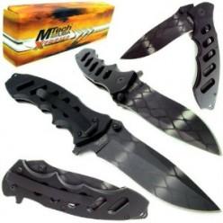 Extreme Tactical Folding Pocket Knife with Aluminum Handle