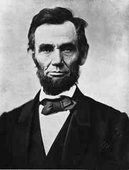 Lincoln would make a great ghost!