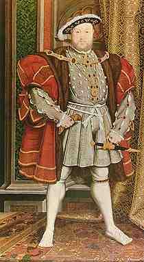 Henry 8th.  A swinish murderer