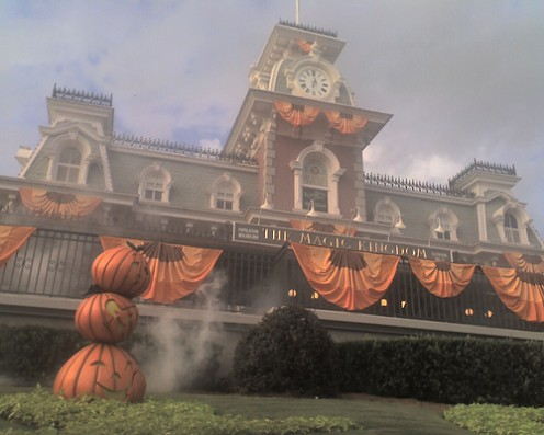 Halloween at the Magic Kingdom