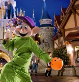 Trick or Treating at Disney World