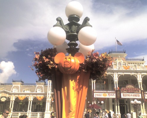 Decorations for Mickey's Not So Scary Halloween Party