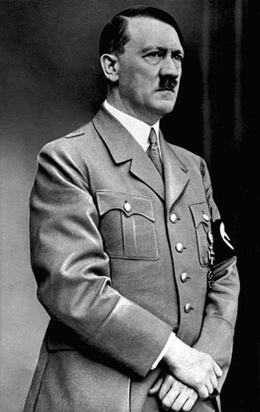 Adolf Hitler, a famous dictator.